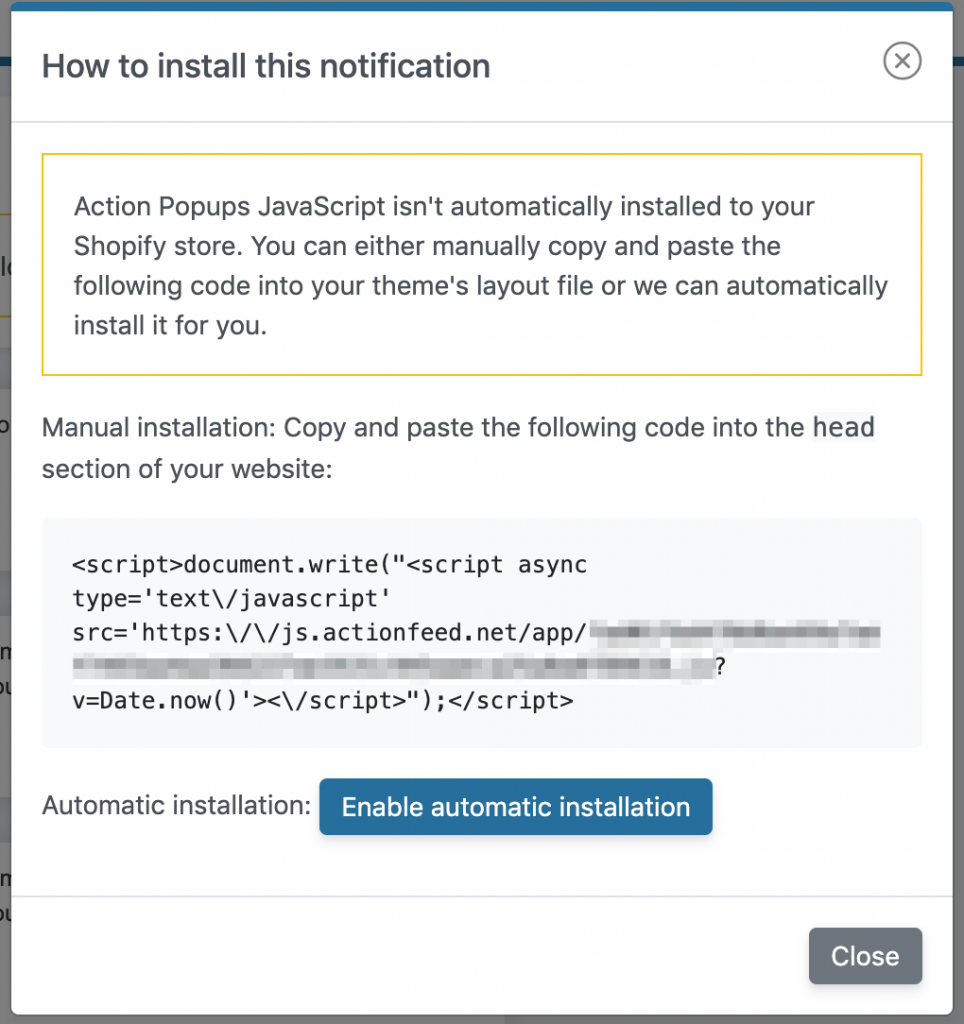 Notification Feeds 👈 ActionFeed